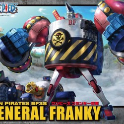 Bandai One Piece General Franky Model Kits