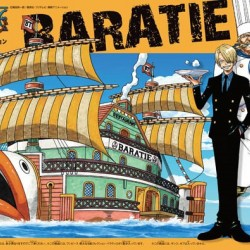Bandai One Piece 10 Baratie Grand Ship Collection