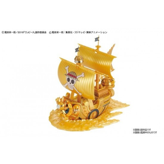 Bandai One Piece Thousand Sunny Commemorative Color Ver of Film Gold Grand Ship Collection