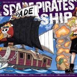 Bandai One Piece 12 Spade Pirates Ship Grand ship Collection
