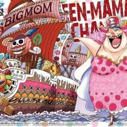 Bandai One Piece 13 Queen Mama Chanter Grand Ship Collection