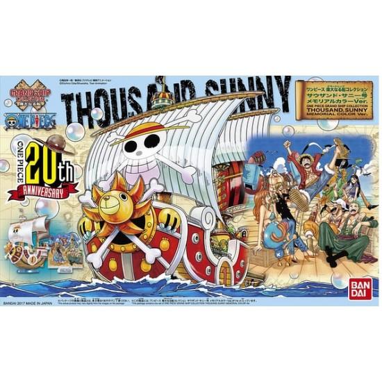 Bandai One Piece Thousand Sunny Memorial Color Ver. Grand Ship Collection