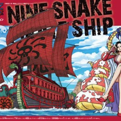 Bandai One Piece 06 Nine Snake Pirate Ship Grand Ship Collection