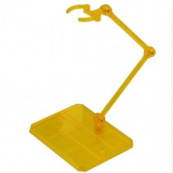 3rd Party Figure Action Base - robot spirit, tamashi, 1/144 etc - Transparent Yellow