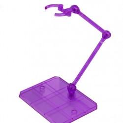 3rd Party Figure Action Base - robot spirit, tamashi, 1/144 etc - Transparent Purple