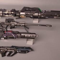 Motoking 1/100 Gundam Assault Weapon Set with LED (plastic model)