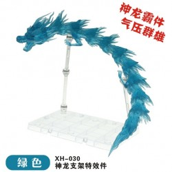 Star Soul Extra Long Dragon Aura Effect with Stand XH-030 - Transparent Green