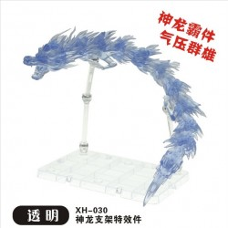 Star Soul Extra Long Dragon Aura Effect with Stand XH-030 - Transparent