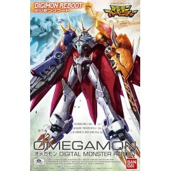 Bandai Digimon Reboot Omegamon Model Kits