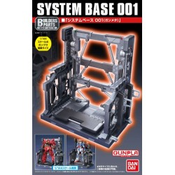 Bandai Builders Parts 1/144 System Base 001 (Gun Metallic)