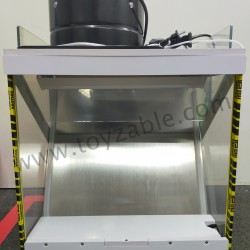Airbrush Spray Booth - Water Fall Circulating Type with LED