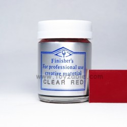 Finisher's Clear Red