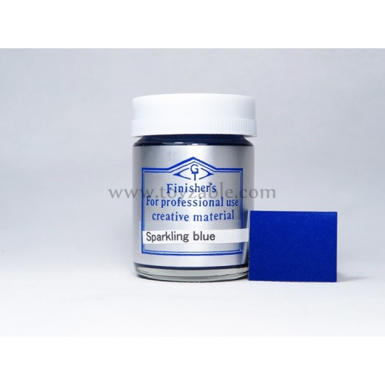 Finisher's Sparkling Blue 20ml - Lacquer paint