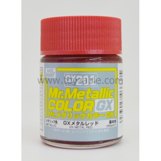 Mr.Hobby Mr.Color GX202 Metallic GX Metal Red