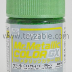 Mr.Hobby Mr.Color GX211 GX Metal Yellow Green