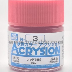 Mr Hobby Acrysion Color N03 Gloss Red