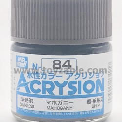 Mr Hobby Acrysion Color N84 Semi Gloss Mahogany