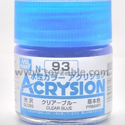 Mr Hobby Acrysion Color N93 Gloss Clear Blue
