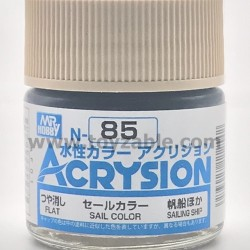 Mr Hobby Acrysion Color N85 Flat Sail Color
