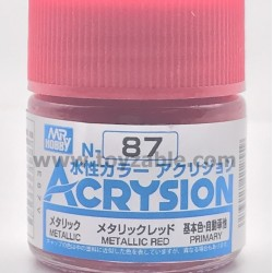 Mr Hobby Acrysion Color N87 Metallic Red