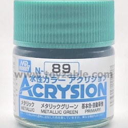 Mr Hobby Acrysion Color N89 Metallic Green