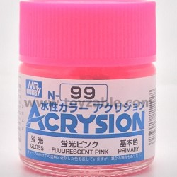 Mr Hobby Acrysion Color N99 Gloss Fluorescent Pink