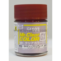 Mr.Hobby Mr.Color GX102 Deep Clear Red