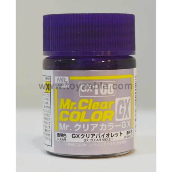 Mr.Hobby Mr.Color GX108 Clear Violet