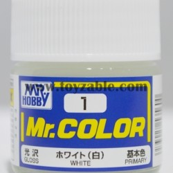 Mr.Hobby Mr.Color C-1 Gloss White