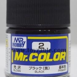 Mr.Hobby Mr.Color C-2 Gloss Black