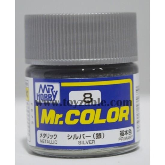 Mr.Hobby Mr.Color C-8 Metallic Silver
