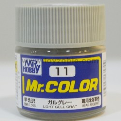 Mr.Hobby Mr.Color C-11 Semi Gloss Light Gull Gray