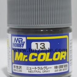 Mr.Hobby Mr.Color C-13 Semi Gloss Neutral Gray