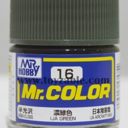 Mr.Hobby Mr.Color C-16 Semi Gloss IJA Green