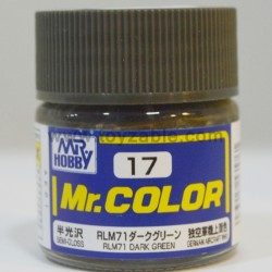 Mr.Hobby Mr.Color C-17 Semi Gloss RLM71 Dark Green