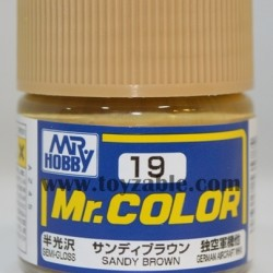 Mr.Hobby Mr.Color C-19 Semi Gloss Sandy Brown