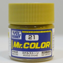 Mr.Hobby Mr.Color C-21 Semi Gloss Middle Stone
