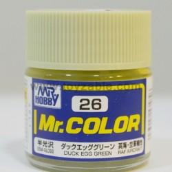 Mr.Hobby Mr.Color C-26 Semi Gloss Dark Egg Green