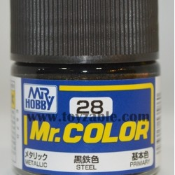Mr.Hobby Mr.Color C-28 Metallic Steel