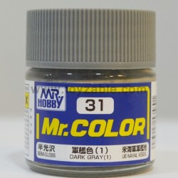 Mr.Hobby Mr.Color C-31 Semi Gloss Dark Gray