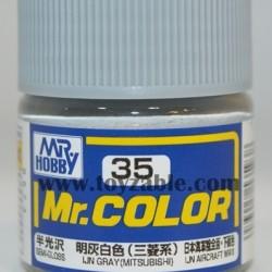 Mr.Hobby Mr.Color C-35 Semi Gloss IJN Gray (Mitsubishi)