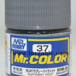 Mr.Hobby Mr.Color C-37 Semi Gloss RLM75 Gray Violet