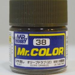 Mr.Hobby Mr.Color C-38 Flat Olive Drab