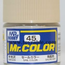 Mr.Hobby Mr.Color C-45 Semi Gloss Sail Color