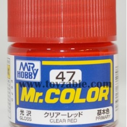 Mr.Hobby Mr.Color C-47 Gloss Clear Red