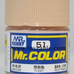 Mr.Hobby Mr.Color C-51 Semi Gloss Flesh