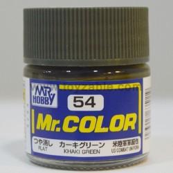 Mr.Hobby Mr.Color C-54 Flat Khaki Green