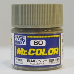 Mr.Hobby Mr.Color C-60 Semi Gloss RLM02 Gray