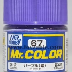 Mr.Hobby Mr.Color C-67 Gloss Purple