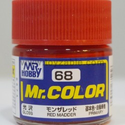 Mr.Hobby Mr.Color C-68 Gloss Red Madder